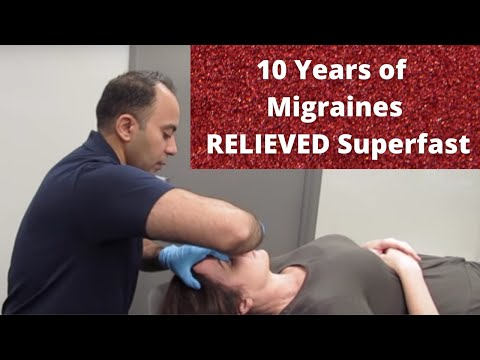 10 Years of * Migraine * RELIEVED Before Your Eyes! (THIS WORKS!!!)
