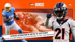 &#39Bouye vs. Allen&#39 and vegan tacos: Our Week 8 recipe and Atwater&#39s keys to victory  Broncos Weekend