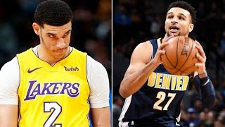 Lakers Beef With Jamal Murray During Game