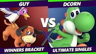 Smash Ultimate Tournament - Guy (Duck Hunt) Vs. Dcorn (Yoshi) - S@X 306 SSBU Bracket