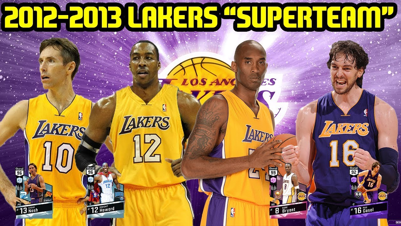 2012-2013 LAKERS