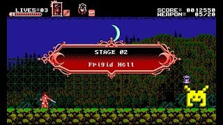 Let's Play Bloodstained: Curse of the Moon: Frigid Hell (2/8)