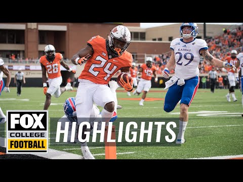 Kansas vs Oklahoma State | Highlights | FOX COLLEGE FOOTBALL