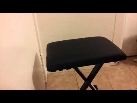 Stage rocker keyboard bench unboxing