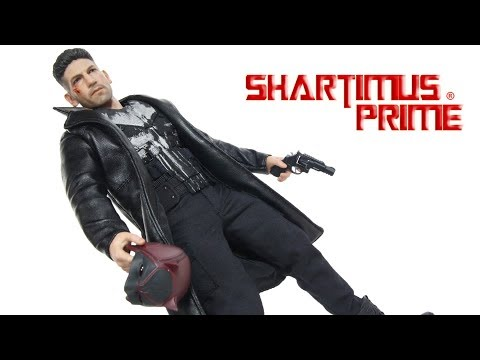 Hot Toys Punisher Netflix Marvel's Daredevil TV Series 1:6 Scale Collectible Action Figure Review