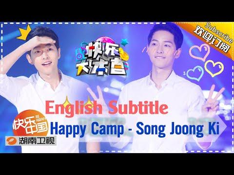 FULL [EngSub] Song Joong Ki - Happy Camp 2016.05.21