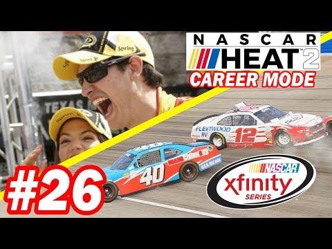REKT by JOEY LOGANO!!!!  [Xfinity Series NASCAR Heat 2 Career Mode 4 and 5/33]
