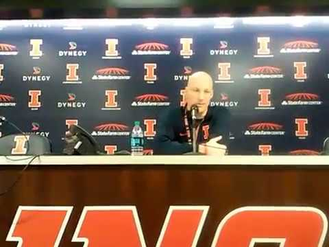 Goodness Gracious - John Groce doesn't like Bret's question (a press conference)