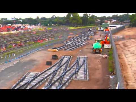 Adelaide rail time-lapse