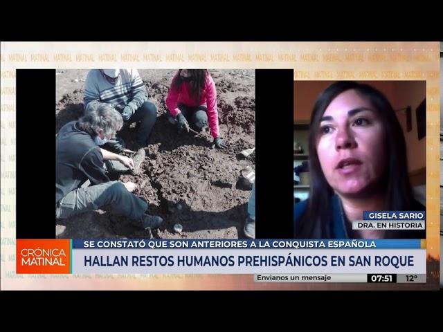 Encontraron restos humanos prehispánicos en el lago San Roque (Córdoba, Argentina)