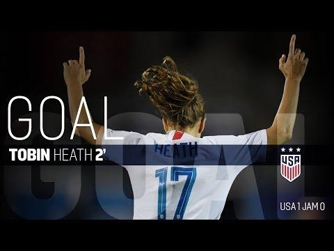 WNT vs. Jamaica: Tobin Heath First Goal - Oct. 14, 2018