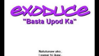 eXOduce - Basta Upod Ka (with LYRICS + DOWNLOAD LINK)