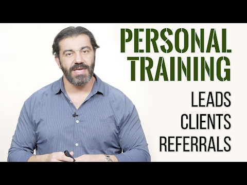 Personal Training Leads, Clients and Referrals