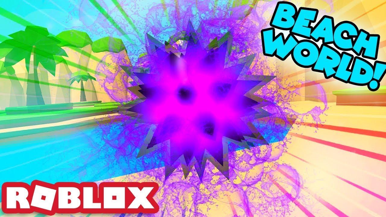 I GOT THE SEA URCHIN PET AND UNLOCKED THE BEACH WORLD! | Roblox Bubble Gum Simulator