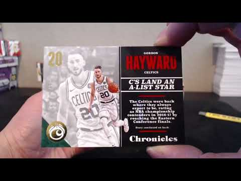 2017-18 Panini Chronicles Basketball 10-Box CASE Pick Your Team Break #2