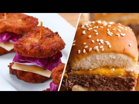 Mouth-Watering Slider Recipes To Serve To Your Friends • Tasty