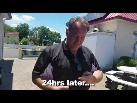 Experimac West Berlin NJ Tests Cellhelmet Liquid glass protector iphone ipad