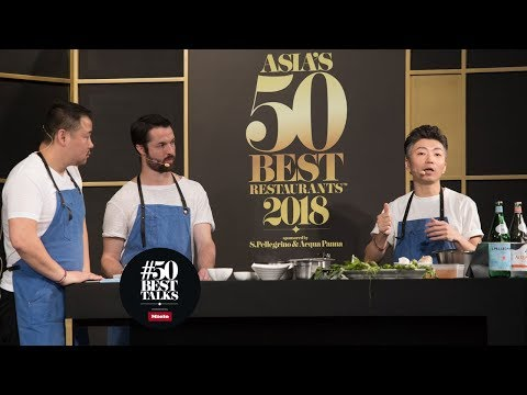 Mume chefs Richie Lin, Kai Ward and Long Xiong on Taiwan's culinary identity at #50BestTalks