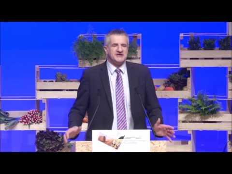 Jean Lassalle intervient devant le grand conseil de l'Agriculture
