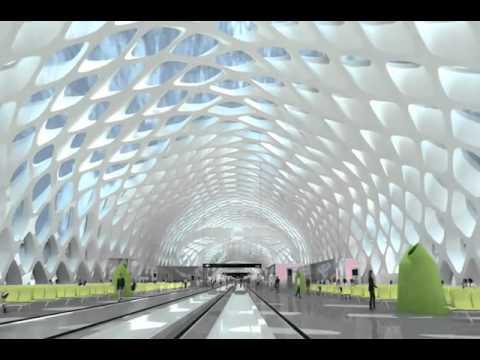 China's new hi tech airport   چین کا دلکش اور جدید ہائی ٹیک ائیر پورٹ