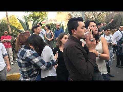 M7.2 earthquake hits SW Mexico; tremors felt in Mexico City