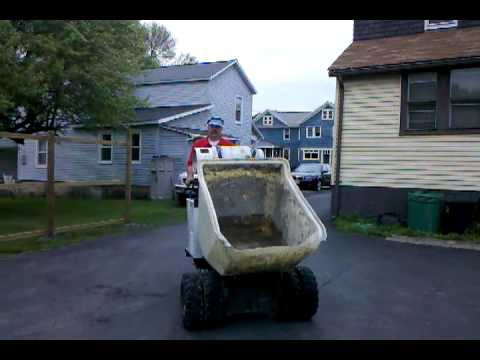 miller concrete buggy for sale