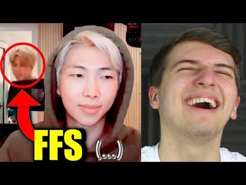Professional V LIVE Crasher: Park Jimin Reaction [HE'S SO CHEEKY]