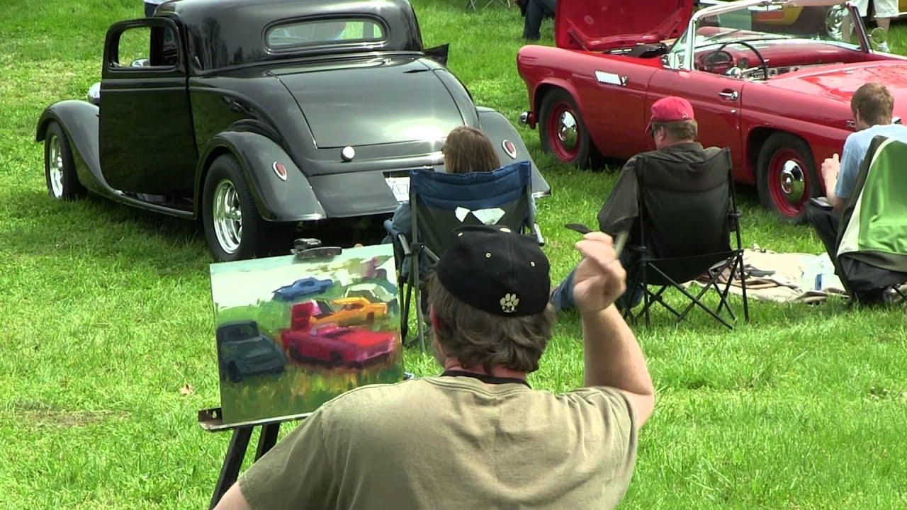 Augusta Plein Air Art Festival Car Show YouTube - Augusta car show