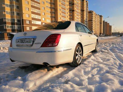 Обзор Toyota Crown Majesta, какое состояние у авто из Абхазии!?