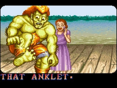 Street Fighter II - Final do Blanka