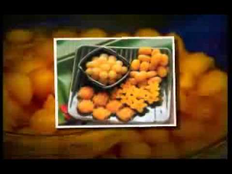 """อาหารไทย-อาหารเอกลักษณ์วัฒนธรรมไทย """"อาหารมงคลงานแต่งงาน : ขนมทองเอก"""""""