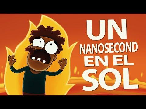¿Qué sucederia si pasas un NANOSECOND en el Sol?