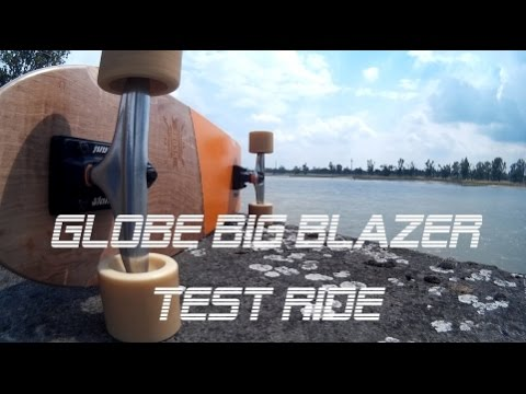 Globe Big Blazer Cruiser Board Test Ride