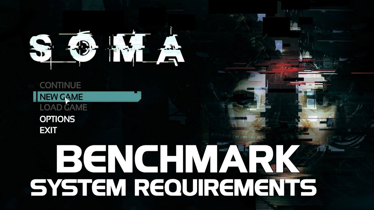 SOMA Benchmark Gameplay GTX970 i7 4770k (GPU usage / VRAM