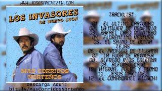 """Los Invasores de Nuevo León   Mas Corridos Norteños """"Album Completo"""""""