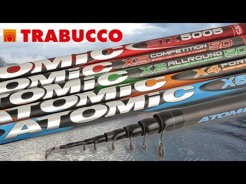 Trabucco TV - Canne Bolognesi - Prodotti 2015 - Atomic Series