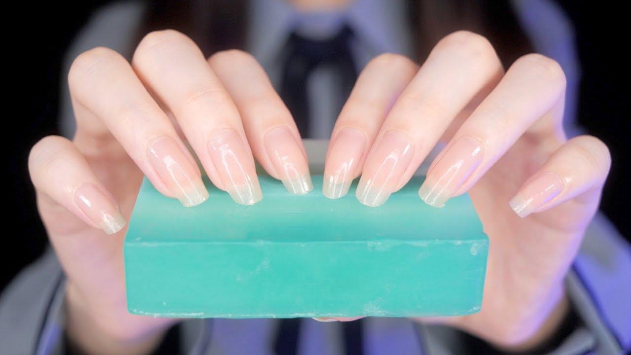 ASMR Satisfying Soap Tapping 🧼