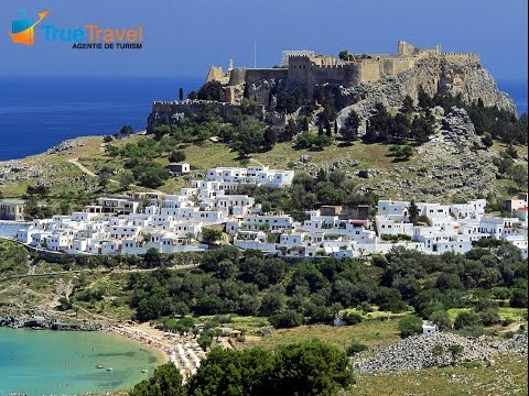 True Travel - Lindos Town, Rhodos, Grecia