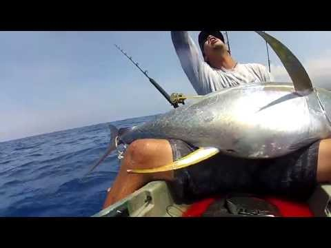 EXTREME KAYAK FISHING HAWAII 101# AHI