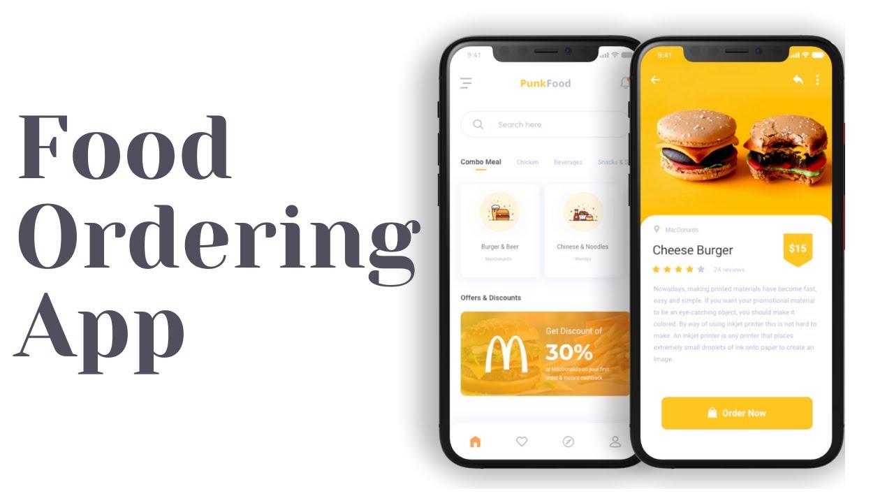 Online Food Ordering App - Flutter UI - Speed Code