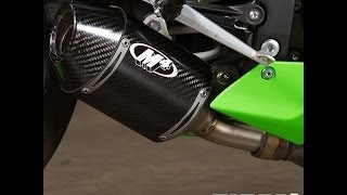 Knalpot Racing Ninja ZX6R ZX636R | M4 Exhaust Carbon Street Slayer Moge