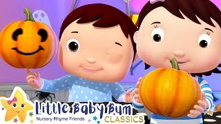 The Pumpkin Song - Halloween | Nursery Rhymes & Kids Songs - ABCs and 123s | Little Baby Bum