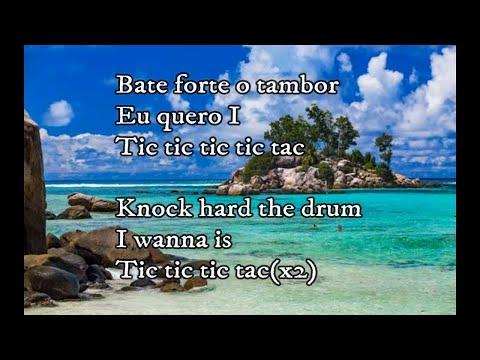 Carrapicho Tic,Tic Tac[English Lyrics+Original Lyrics]