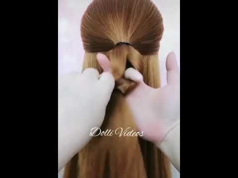 New Easy Hairstyle For Girls Whatsapp Status Video Must Watch And Download For Free Youtube
