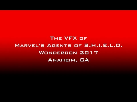 The VFX of Marvel's Agents of SHIELD Panel at Wondercon