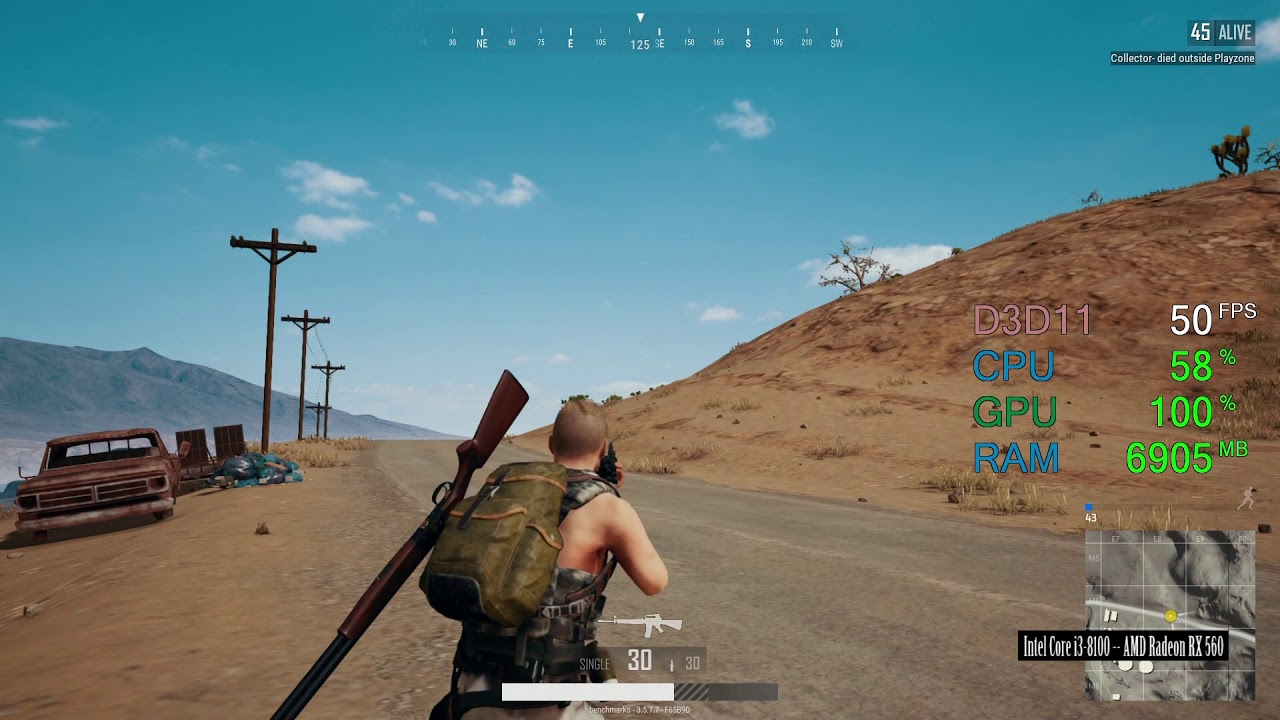 how to get more fps in pubg amd