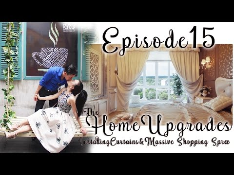 HOME MAKEOVER| Curtains and Semi - finish Home!