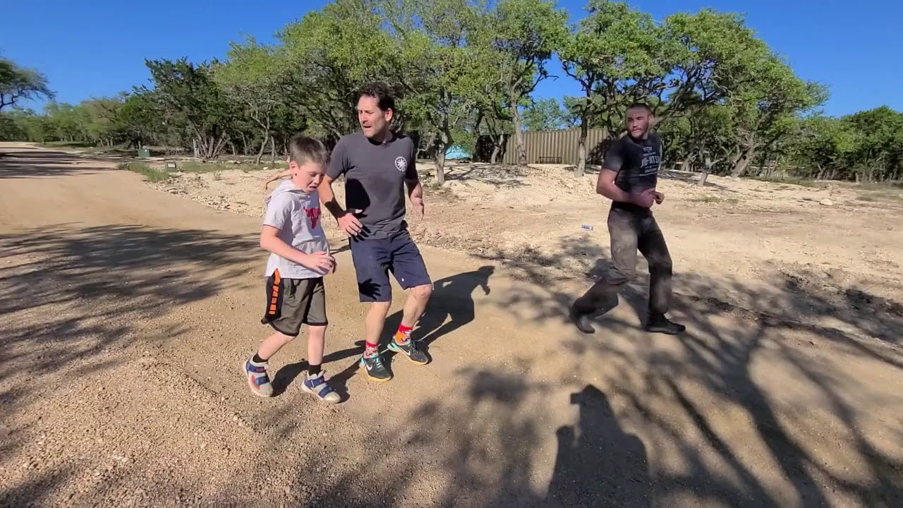 Outdoor Home Workout!  with Professor's Todd and Marcus