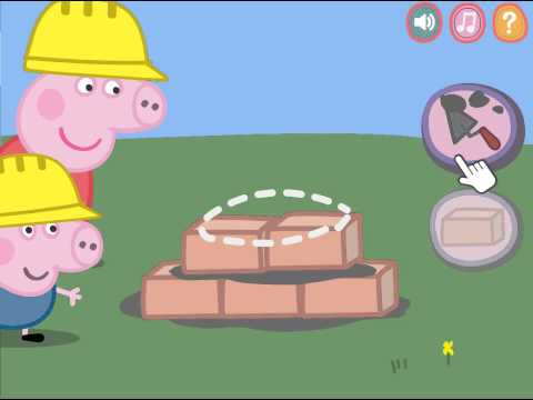 *NEW* Peppa Pig building house for kids | Movie
