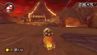 Wii Grumble Volcano - 1:53.194 - PUTA CHIBI (Mario Kart 8 World Record)